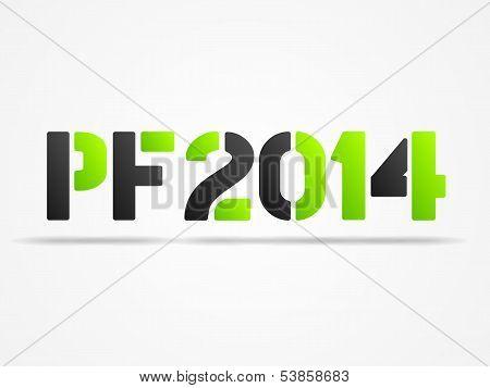 Pf 2014 Green Poster