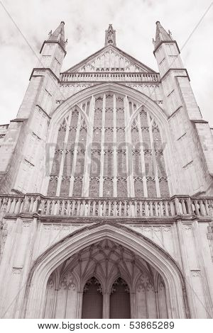 Winchester Cathedral Church, England