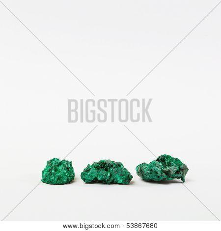 Malachite minerals