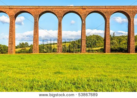 Nairn Viaduct aka. Culloden Viaduct Scotland UK