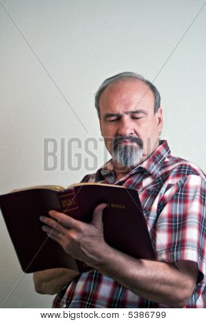 Man With Strong Religious Beliefs