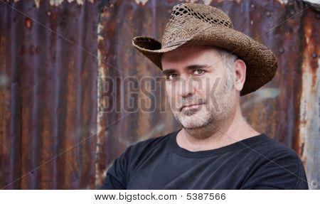 Man In Cowboy Hat