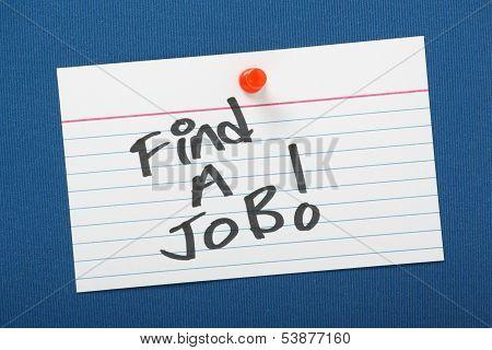 Find A Job!