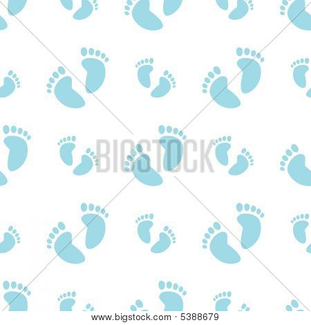 Seamless Feet Background (Boy)
