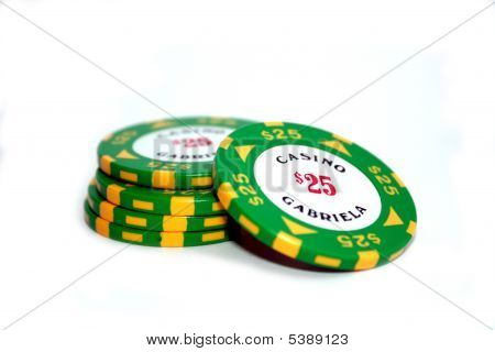 Green Chip Stack