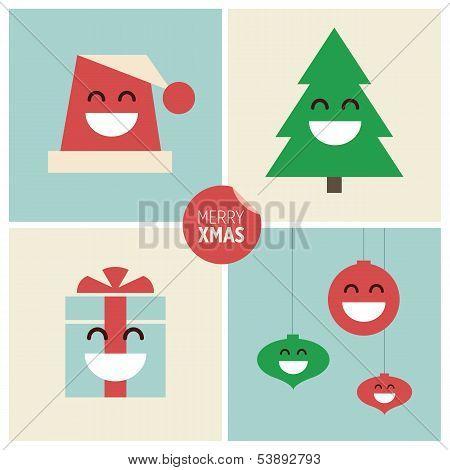 Christmas cartoon illustrations