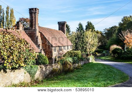 Old Cottage With Lovely Chimneys, Millford Surrey, England