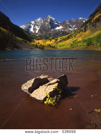 Maroon Lake & Rock