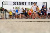 stock photo of competing  - Marathon - JPG