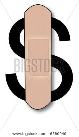 Bandaid On Dollar.