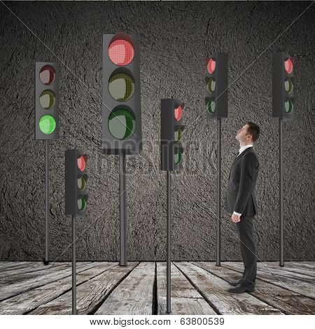 Many Traffic Light