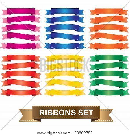 Ribbon theme set