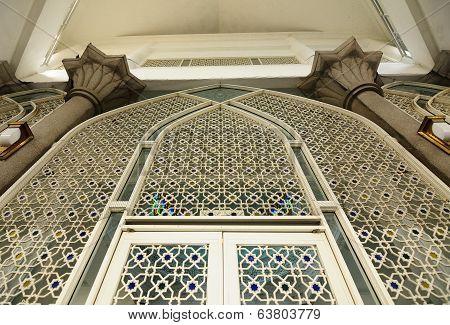 Door of Sultan Abdul Samad Mosque (KLIA Mosque)