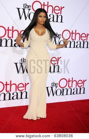 LOS ANGELES - APR 21:  Nicki Minaj at the