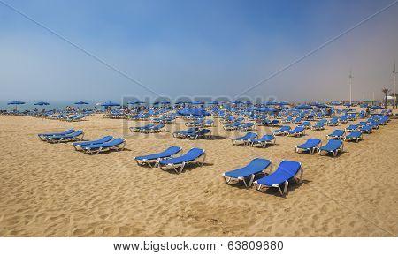 Playa De Levante, Benidorm.
