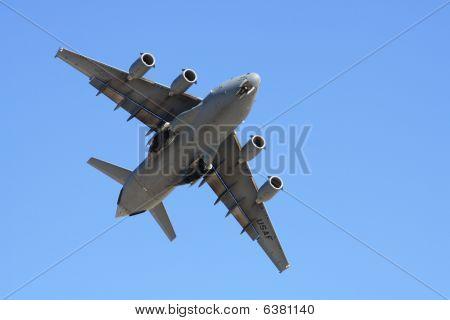 C17 in flight