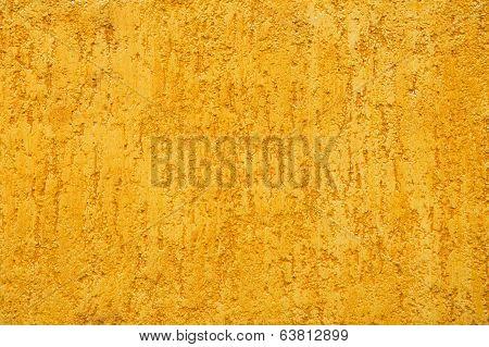 Yellow Porous Wall