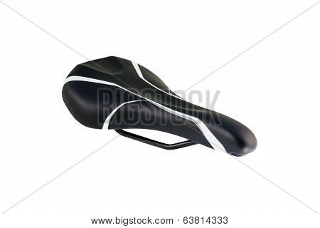 black bike saddle