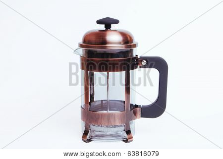 French Press Coffee And Tea Maker, Empty