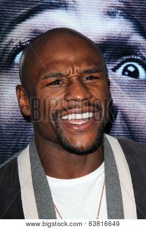 LOS ANGELES - APR 16:  Floyd Mayweather Jr at the