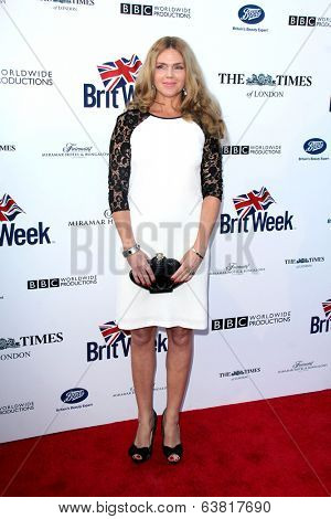 BODHILOS ANGELES - APR 22:  Evgenia Lorcy at the 8th Annual BritWeek Launch Party at The British Residence on April 22, 2014 in Los Angeles, CA