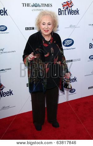 LOS ANGELES - APR 22:  Doris Roberts at the 8th Annual BritWeek Launch Party at The British Residence on April 22, 2014 in Los Angeles, CA