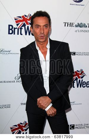 BODHILOS ANGELES - APR 22:  Bruno Tonioli at the 8th Annual BritWeek Launch Party at The British Residence on April 22, 2014 in Los Angeles, CA