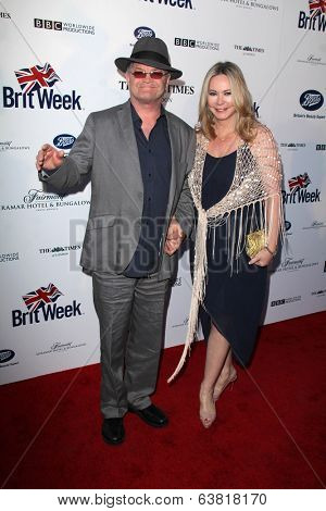 BODHILOS ANGELES - APR 22:  Micky Dolenz, Donna Quinter at the 8th Annual BritWeek Launch Party at The British Residence on April 22, 2014 in Los Angeles, CA