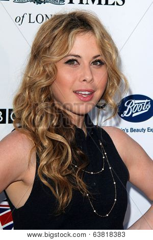 BODHILOS ANGELES - APR 22:  Tara Lipinski at the 8th Annual BritWeek Launch Party at The British Residence on April 22, 2014 in Los Angeles, CA