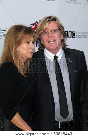 BODHILOS ANGELES - APR 22:  Mireille Noone, Peter Noone at the 8th Annual BritWeek Launch Party at The British Residence on April 22, 2014 in Los Angeles, CA