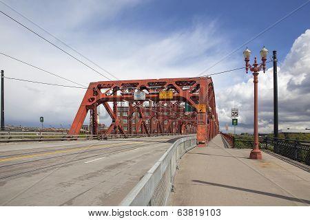 Broadway Bridge Portland Oregon