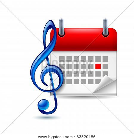 Music event icon