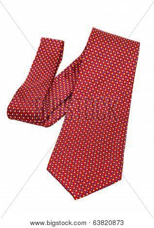 red necktie