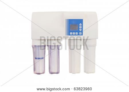 the image of  filters to purify  drinking water