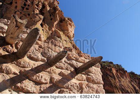 Pueblo Roof Beams
