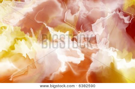 Fire And Smoke Background
