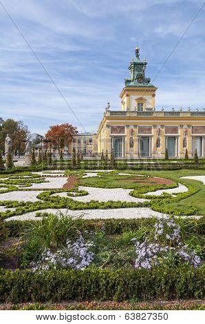Wilanow Palace, Warsaw, Poland.