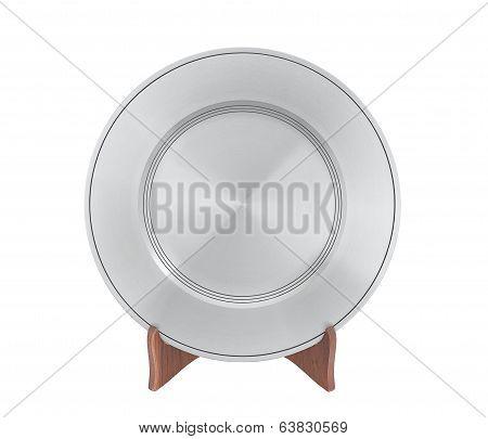 pewter dish