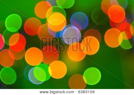 Abstract Holiday Lights