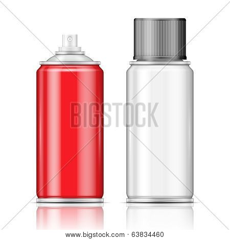 Aluminium spray cans