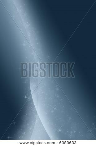 A Blue Burst Of Stars