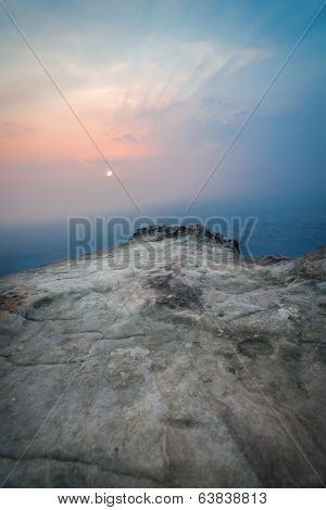 Sunset From The Cliff At Unseen Thailand