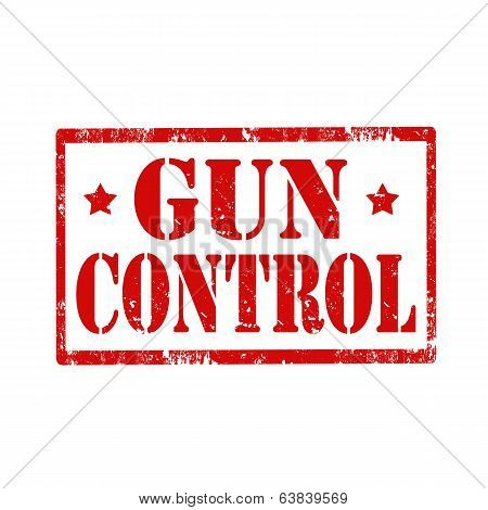 Gun Control-stamp