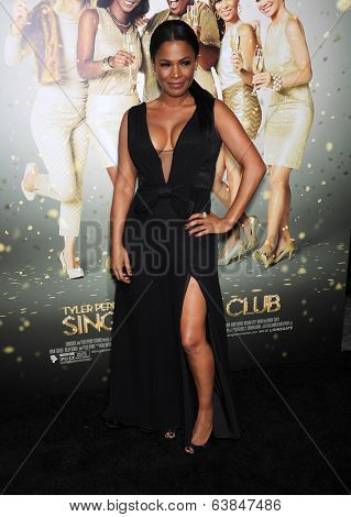 LOS ANGELES - MAR 10:  Nia Long arrives to the Tyler Perry's