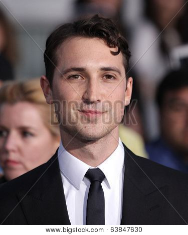 LOS ANGELES - MAR 18:  Ben Lloyd-Hughes arrives to the 'Divergent' Los Angeles Premiere  on March 18, 2014 in Westwood, CA