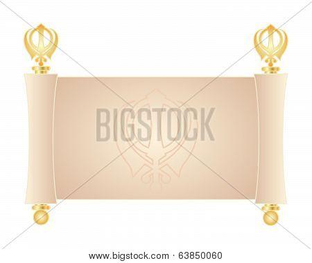 Sikh Parchment