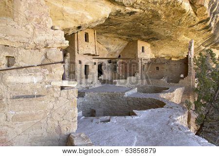 Balcony House Dwelling at Mesa Verde National Park