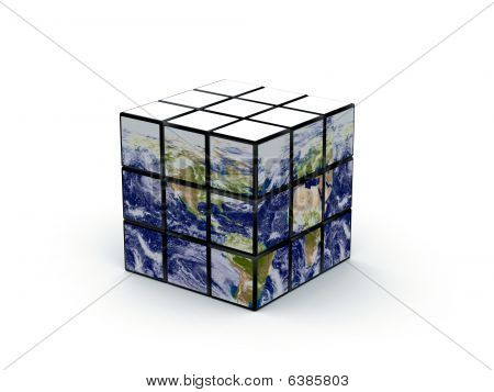 Earth As Magic Cube