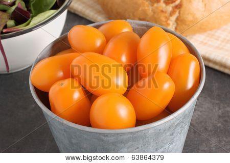Orange Santa Tomatoes