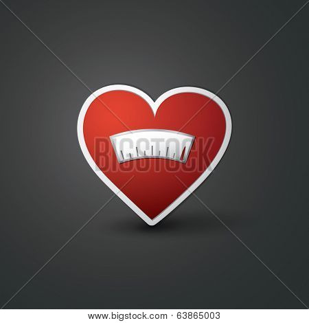 Love Meter - Heart Design